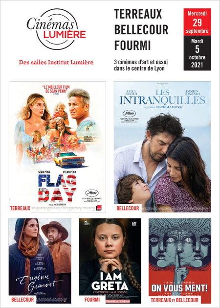 Programme Cinemas Lumiere 29 09 21s