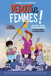 DEBOUT LES FEMMES AFFICHE